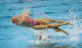 Synkron svømning, OL 2012